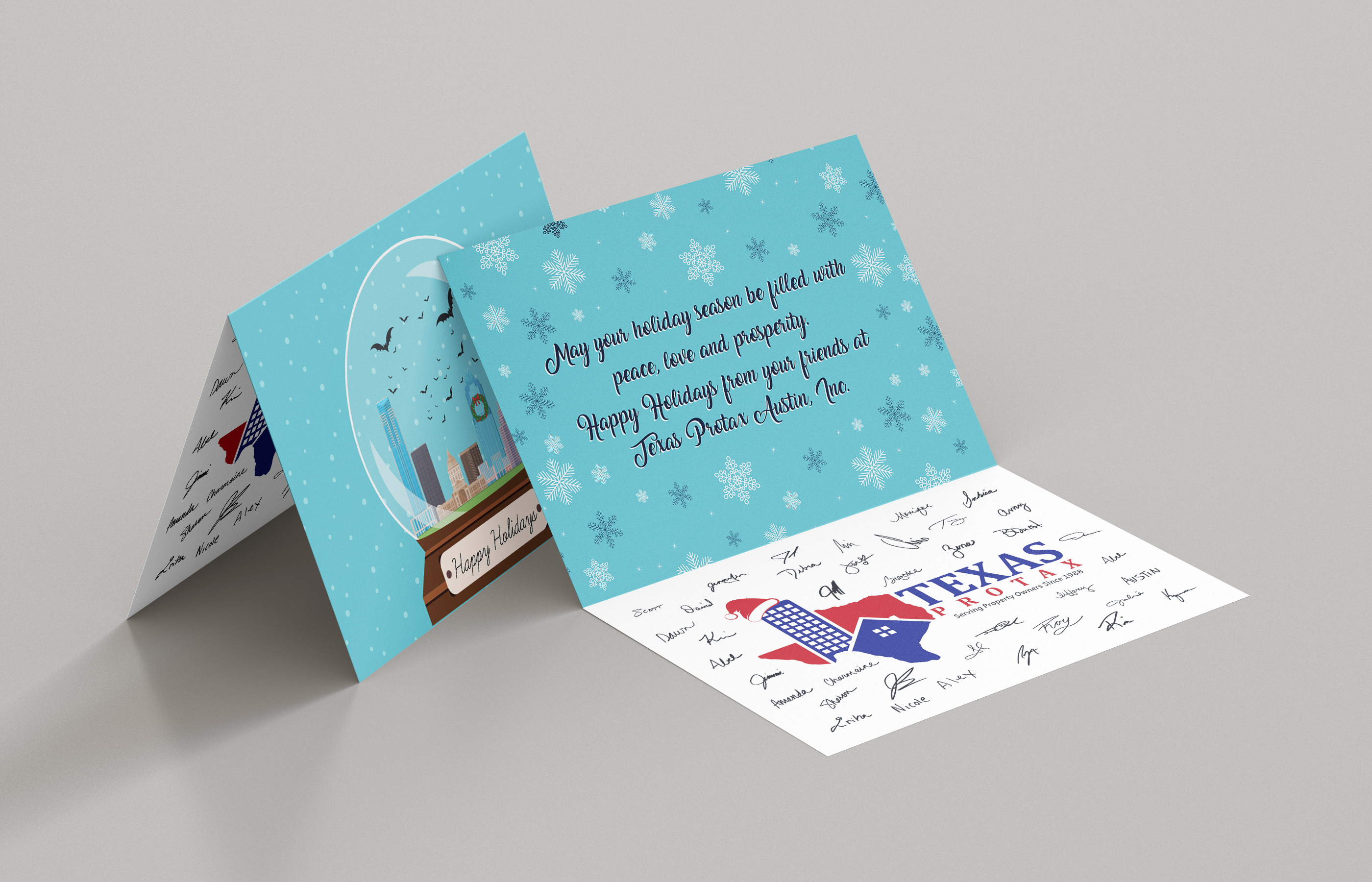 Texas Protax Holiday Cards
