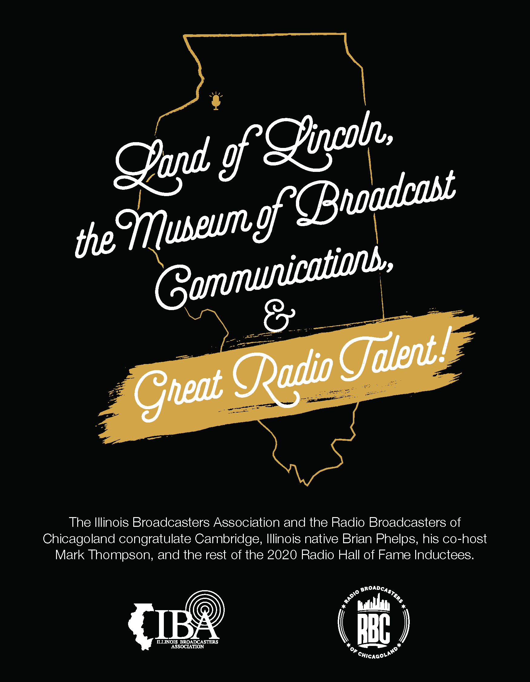 Illinois Broadcasters Association Magazine Ad