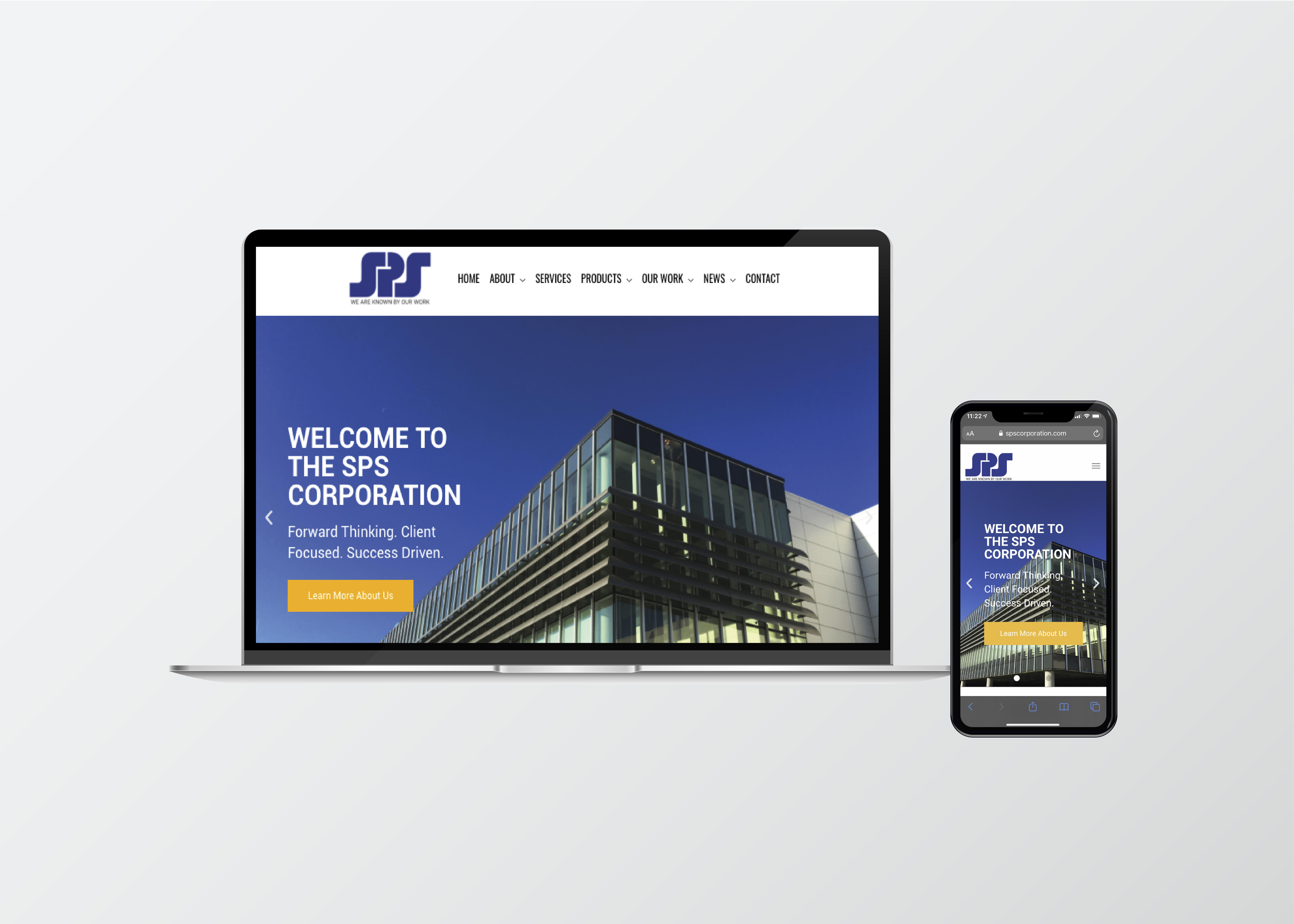 SPS Corporation Website