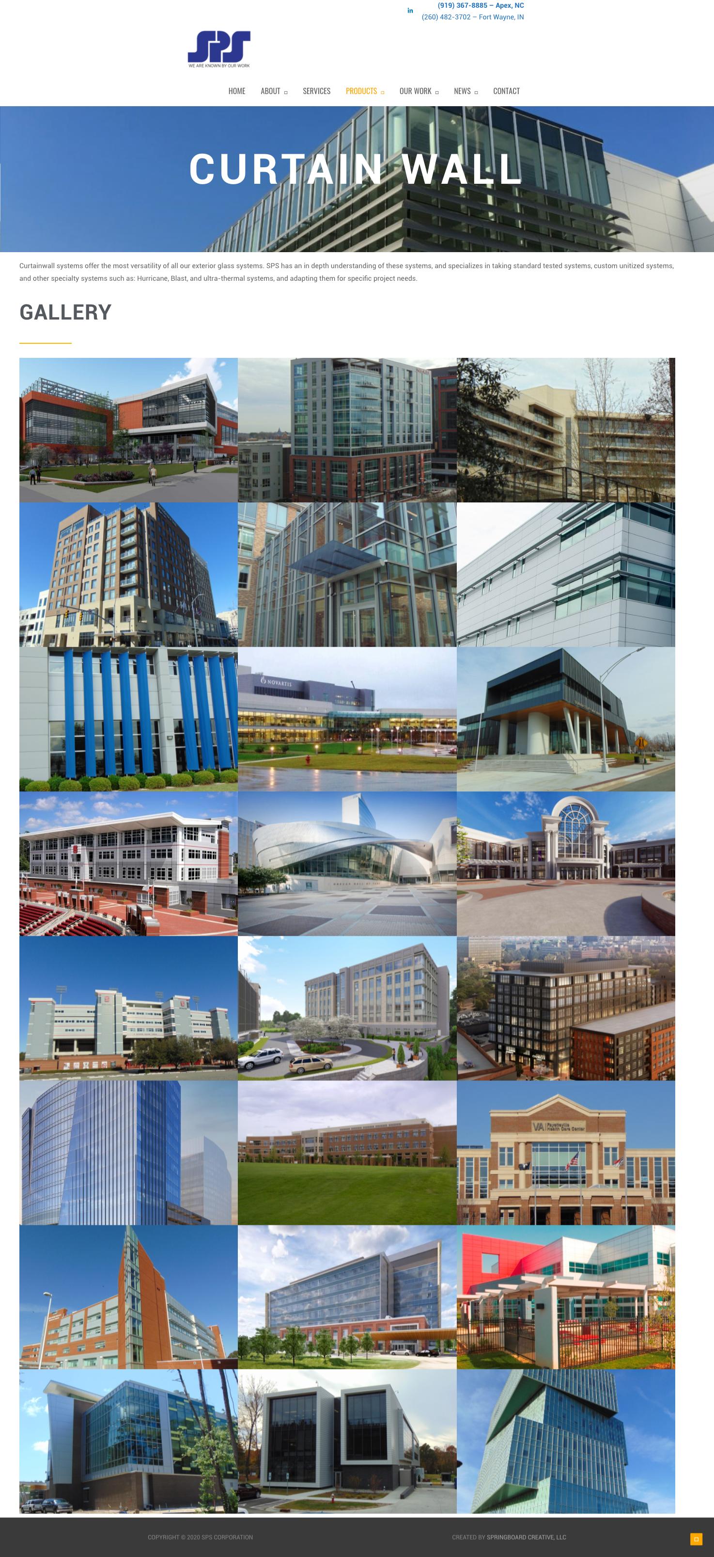 SPS Corporation Website